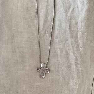 Silpada Sterling Silver Cross Necklace
